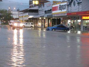 Rain drenches region