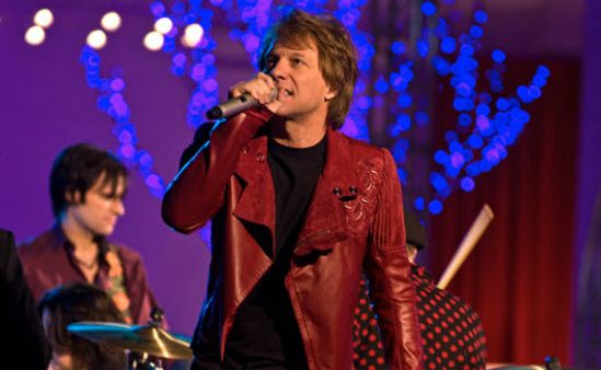 Jon Bon Jovi is New Year's Eve.