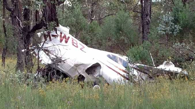 Dysart miner Darryl Marsh died when his light plane crashed about 100km north of Roma.