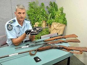 Hinterland raid nets guns, drugs