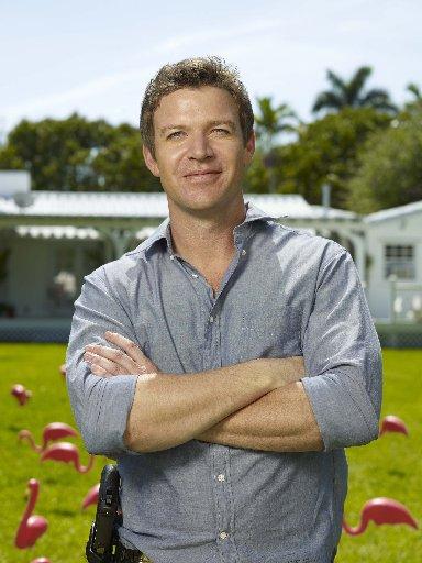 Matt Passmore stars in the TV series The Glades. Supplied by Austar. STV.