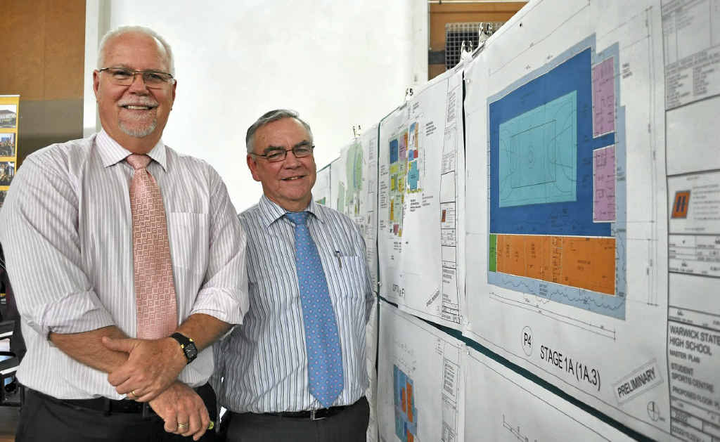 Education Queensland's Greg Dickman and John Brazier outlined the master plan yesterday.