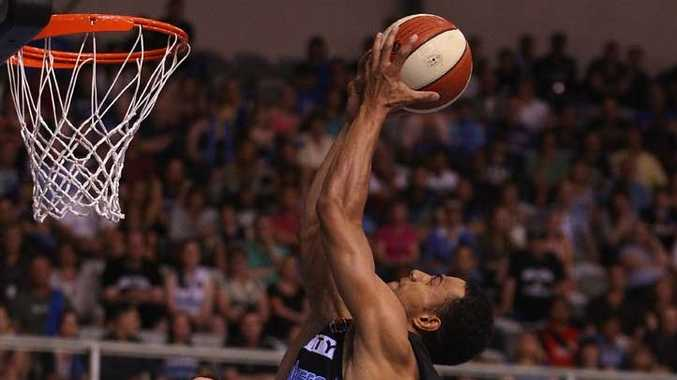 New Zealand Breakers' Mika Vukona.