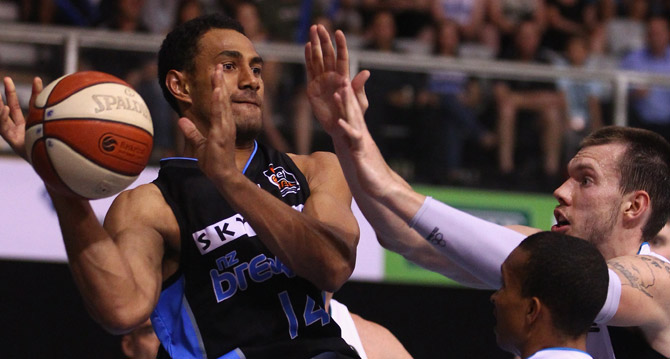 The Blaze closed within six points near the end of the third quarter after two players were thrown out of the game.