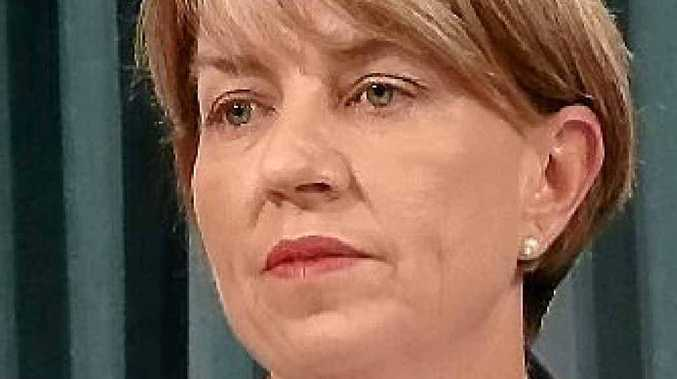 Premier Anna Bligh yesterday in Brisbane.