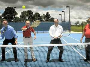 USQ serves up tennis international