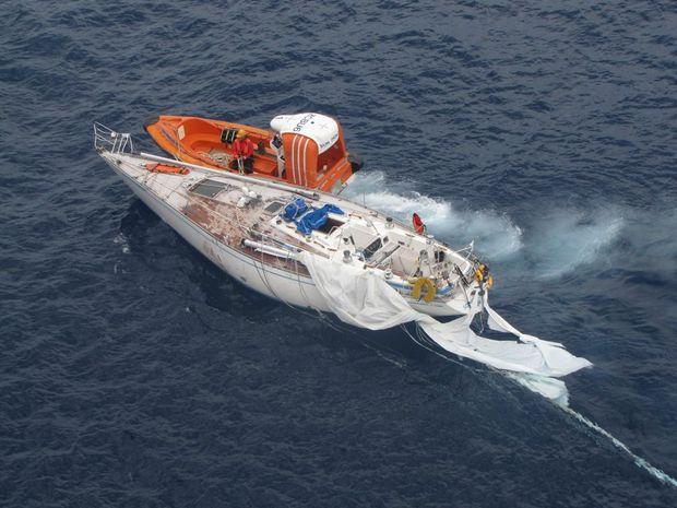 Cruise Ship Rescues Stricken Yacht Queensland Times