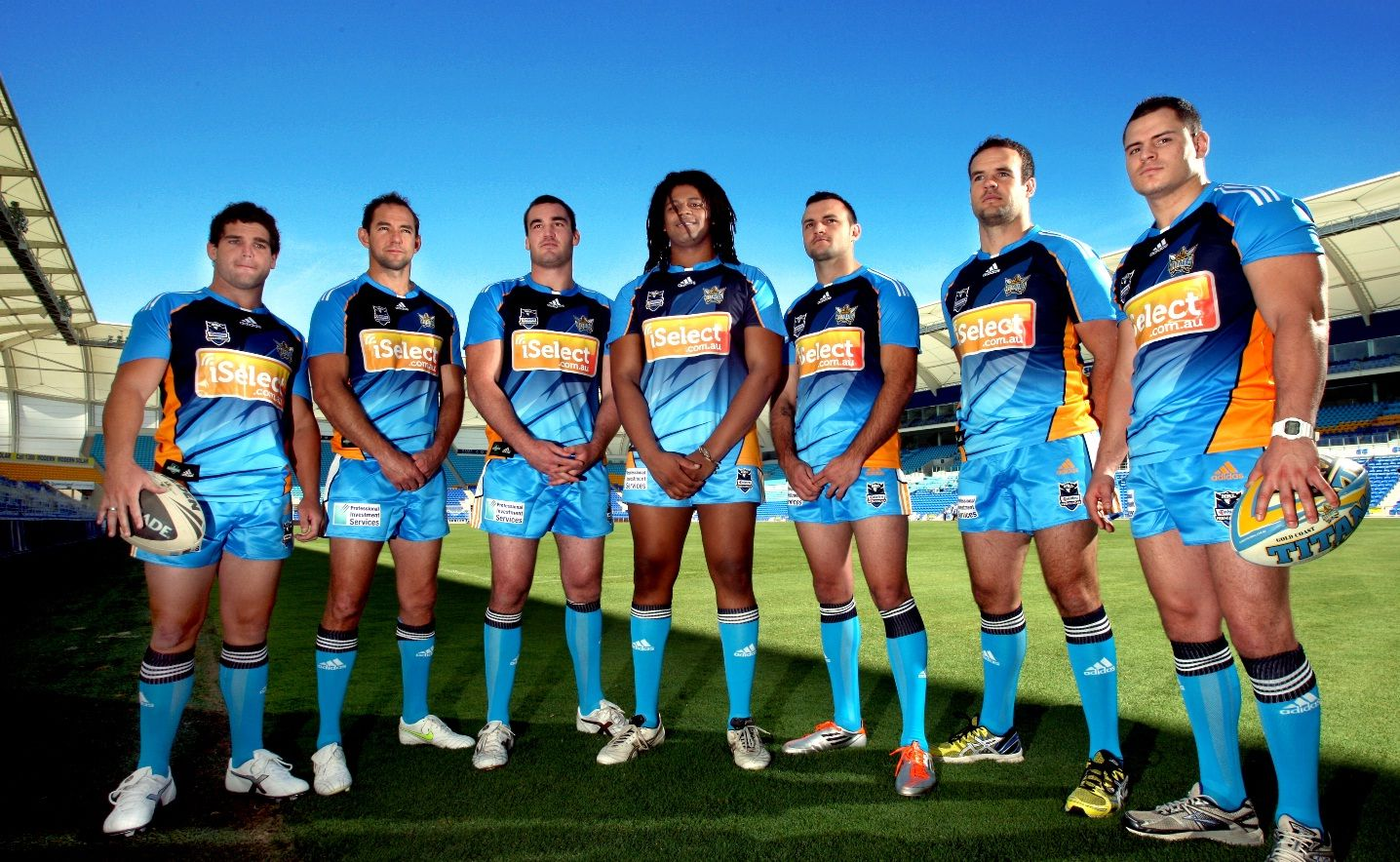 New Gold Coast Titans players