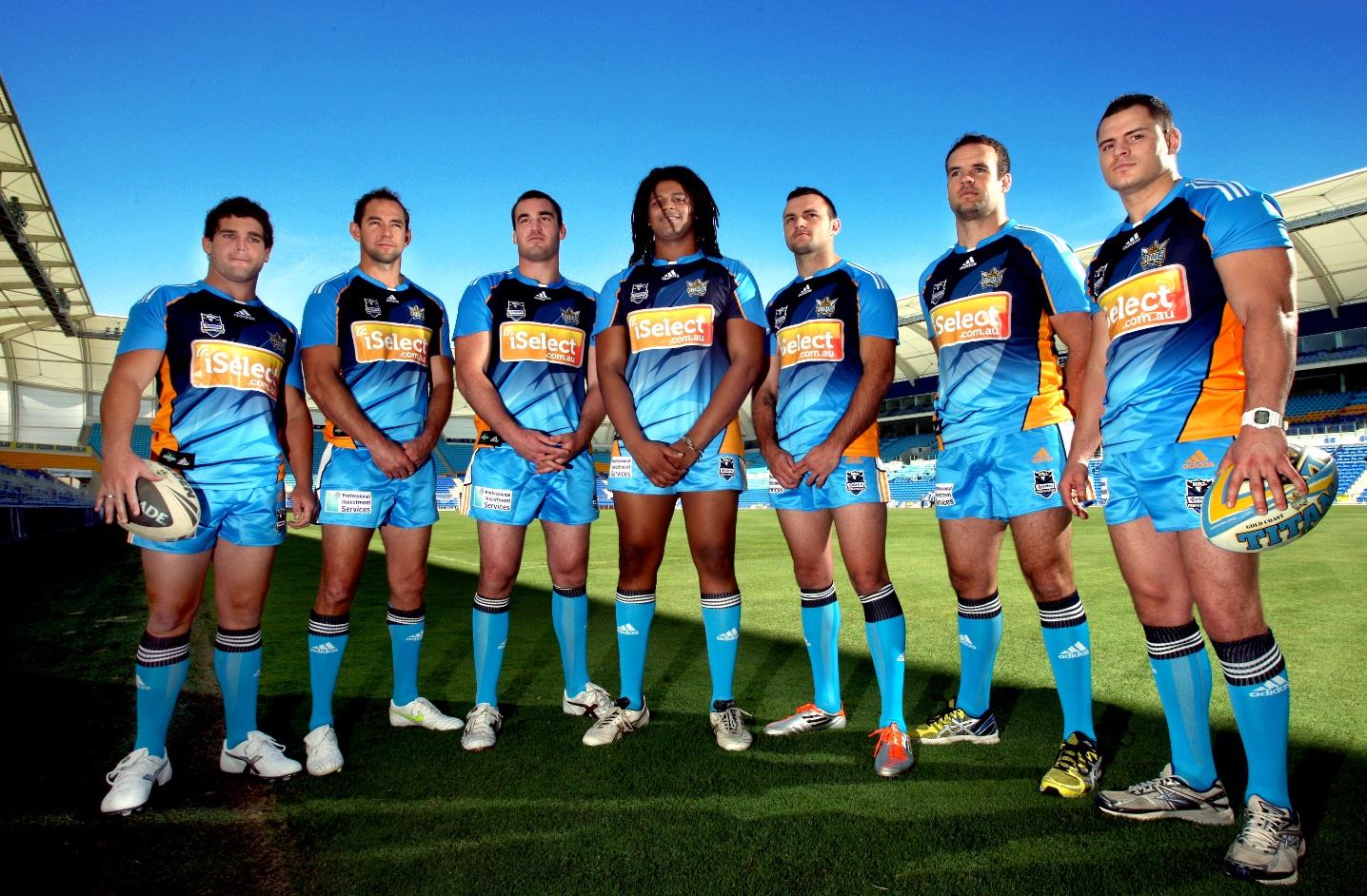 New Gold Coast Titans players
