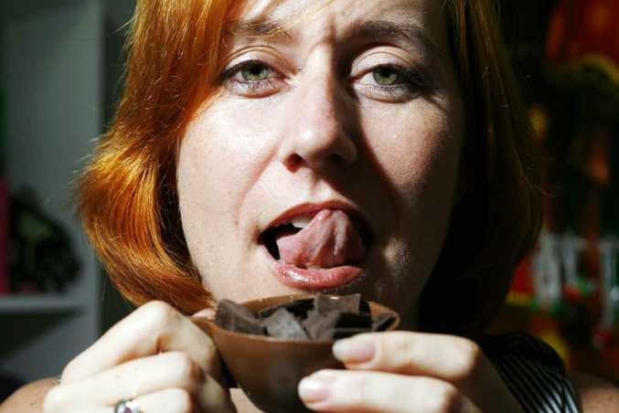 Katrina Lee is holding a special chocolate event on Friday at Lee Bonbons at the Old Flour Mill.