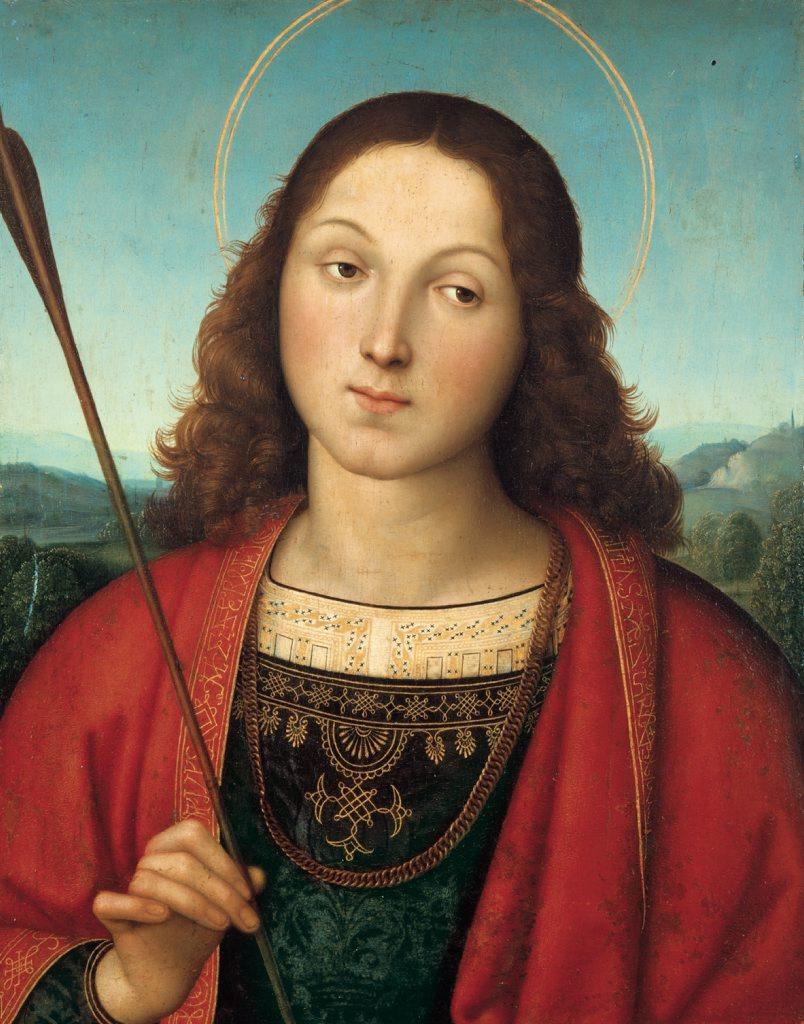 Raphael's Saint Sebastian.