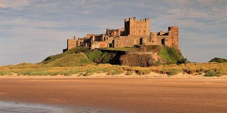 Bamburgh Castle stands proudly above a treacherous sea, and has protected both its inhabitants and hapless sailors for hundreds of years.