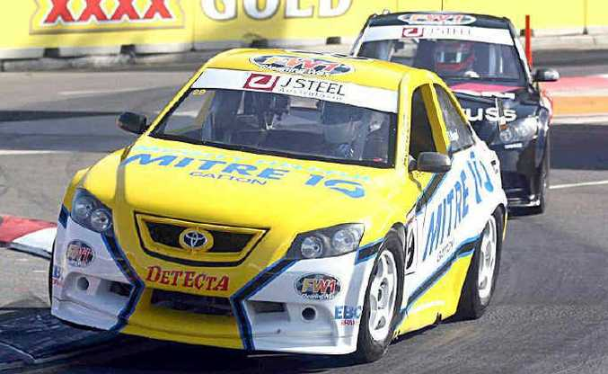Brendon Pingel races at Sydney to round out his impressive rookie year in Aussie Racing Cars.