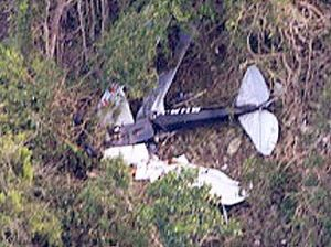 Air crash investigation hits wall