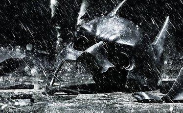 The poster for The Dark Knight Rises.