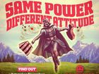 Powershop's ad was pulled after a swift response from the patent lawyers of LucasFilm.