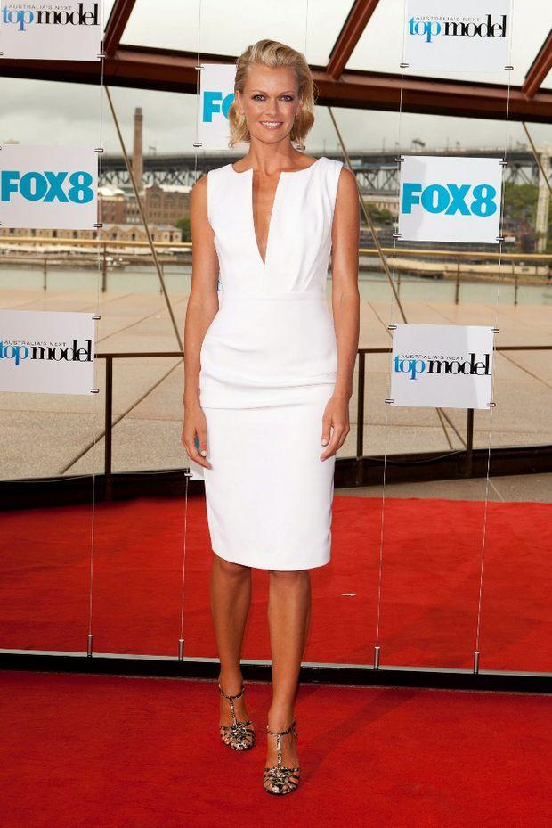 Sarah Murdoch leaves Australia's Next Top Model.