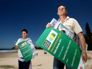 Cabarita beach cleanest in NSW