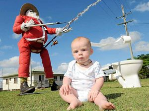 Santa swaps North Pole for South Kolan