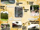 Treasure map to attract tourism