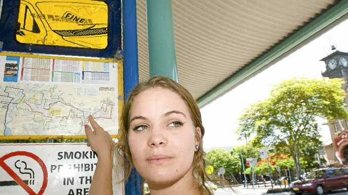 Daisy Aczel-Morris, 16, of Goonellabah is dependent on buses for travel.