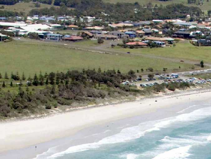 Ballina Council has cleared the way for land known as Stewart Farm at Skennars Head to be developed and is hoping to put the car park (middle right) into the public's hands.