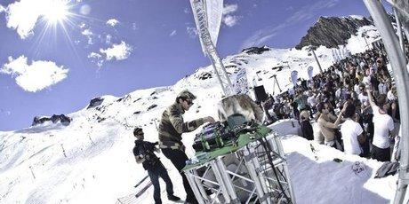 Snowbombing in Mayrhofen, Austria.