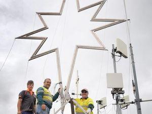 Tower star shines way