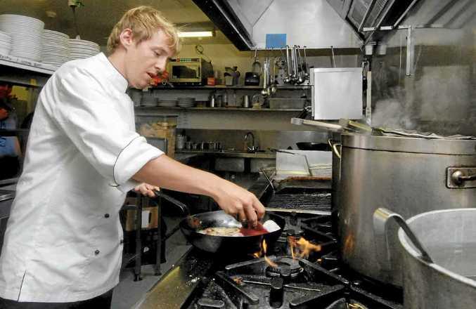 Chef Peter Baca has nine year's overseas restaurant experience.