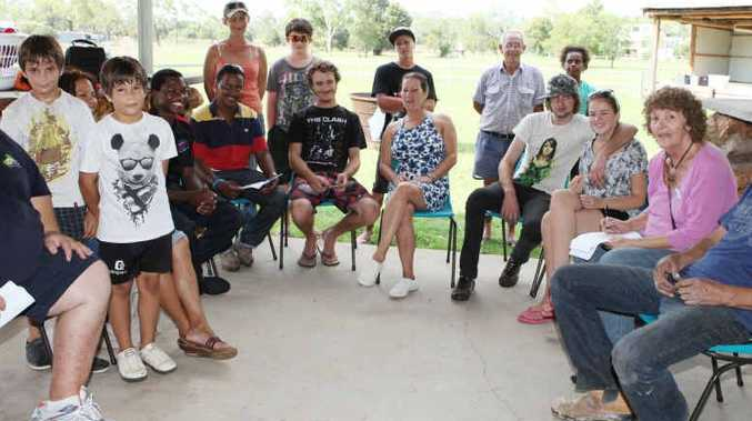 The Gemfields motocross club meeting saw a good turnout of enthusiatic locals.