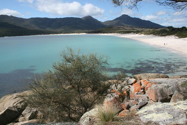 PICTURESQUE: The beauty of Wineglass Bay.