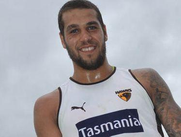 Hawk superstar Lance Franklin turned it on against the Kangaroos.
