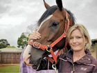 Toowoomba apprentice jockey Ruby Ride with Robert Cole stable member Tisani Lad.