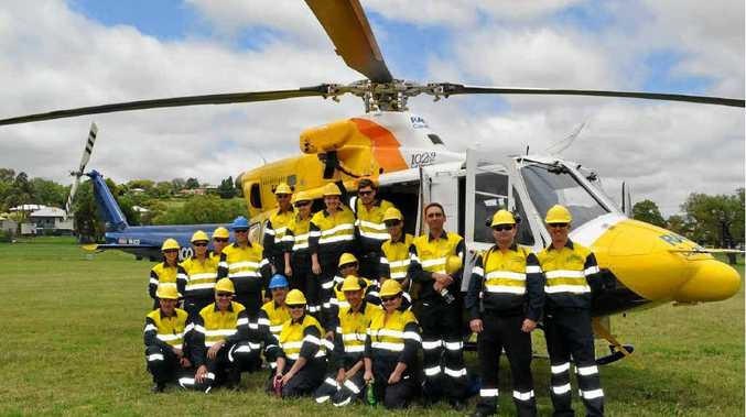 RACQ Community Response Team ready for emergency.