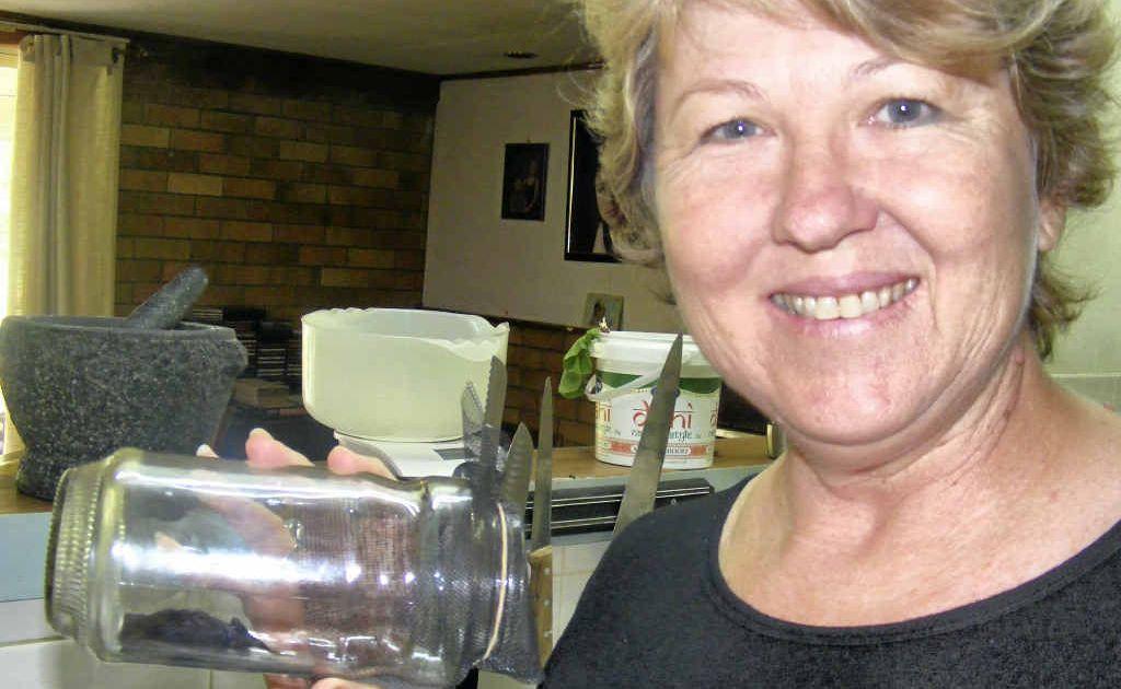 Julie Lewin found this micro bat in her kitchen sink.