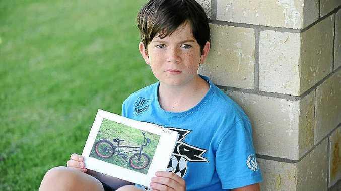 Jack Petrie had his Subrosa BMX stolen.
