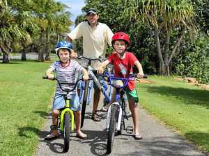 Bikes get kids out and active