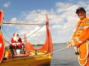 Santa spreads SES units' goodwill