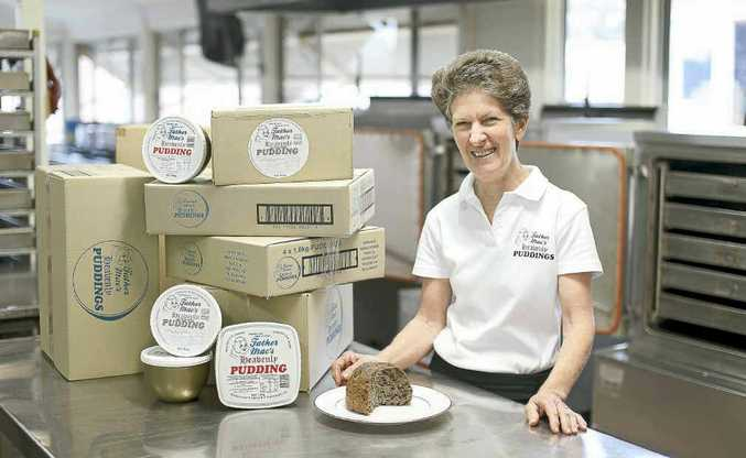 Bev Crethar, manager of Father Mac's Heavenly Puddings in Alstonville.