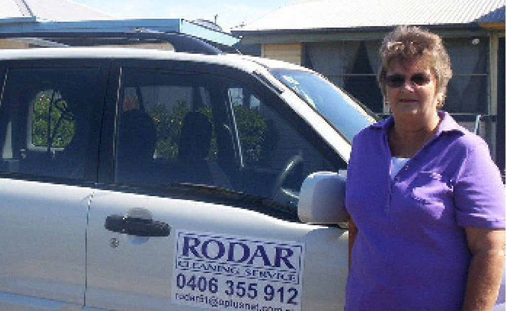 Robin Haworth from Rodar Cleaning Service uses TrueLocal to promote her business.