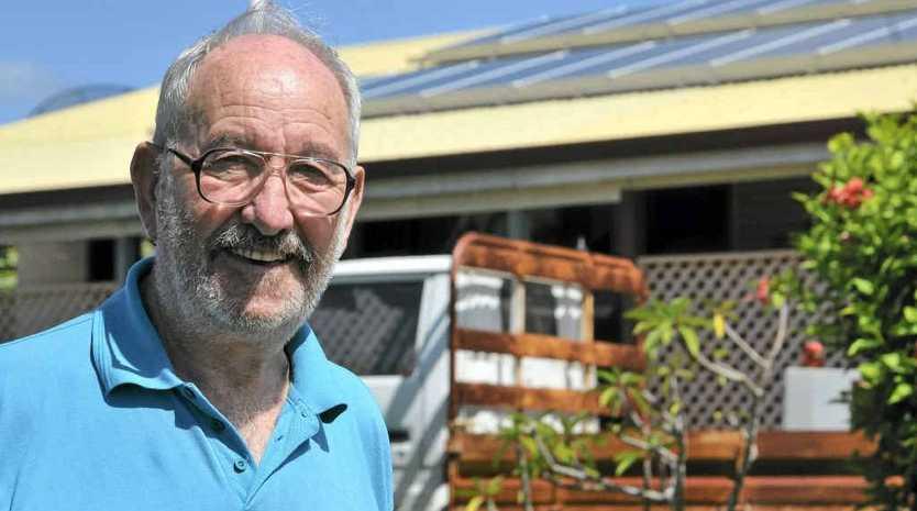 Colin Fall had solar panels installed.