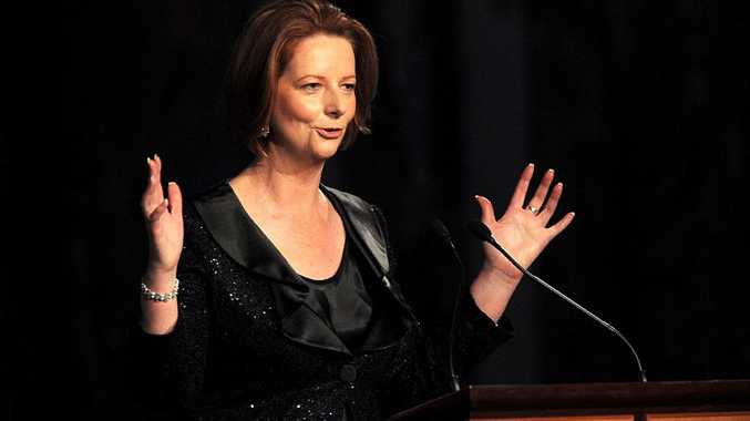 Prime Minister Julia Gillard sat through no less than nine radio and TV interviews.
