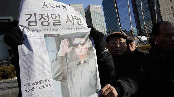 South Koreans react to the death of Kim Jong Il.