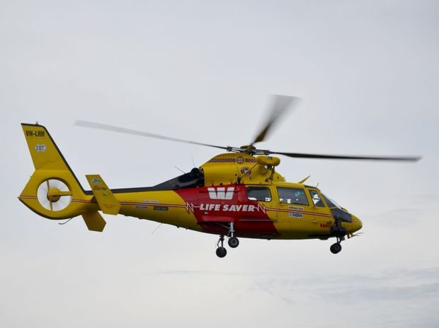 The Westpac Life Saver Rescue helicopter was involved in the search.