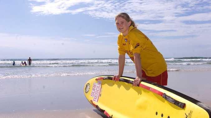 Isabella Jones, 14, rescued three people late on Sunday at Lighthouse Beach, Ballina.