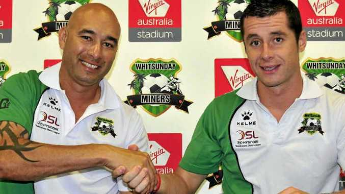Whitsunday Miners coach Graham Harvey will be back at the helm in 2012, announced club CEO Troy Mundy.