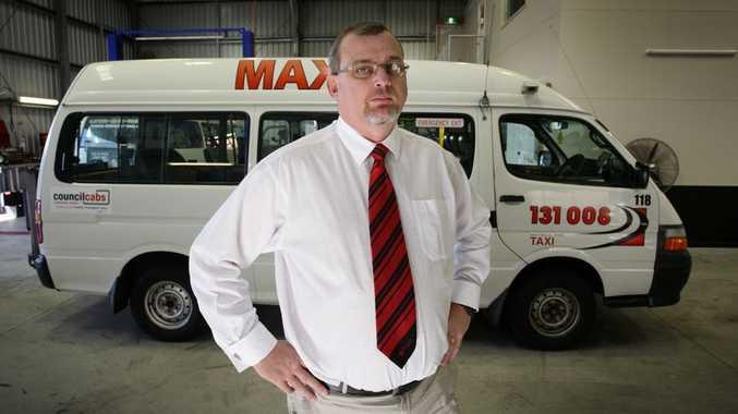 Suncoast Cabs general manager John Lobwein