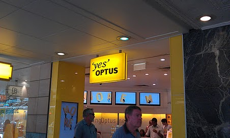 Optus launched their