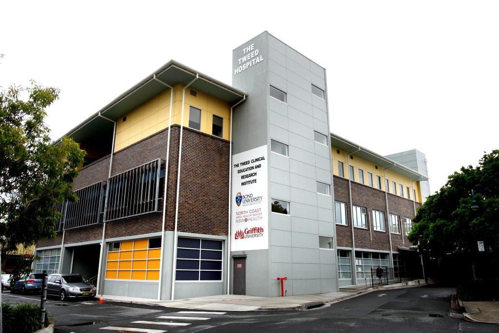 The Tweed Hospital, Tweed Heads. Photo: John Gass / Daily News