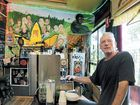 Jack Murphy the barista at the Hemp Bar in Nimbin is confident that a smoking ban in the cafe will be an improvement.